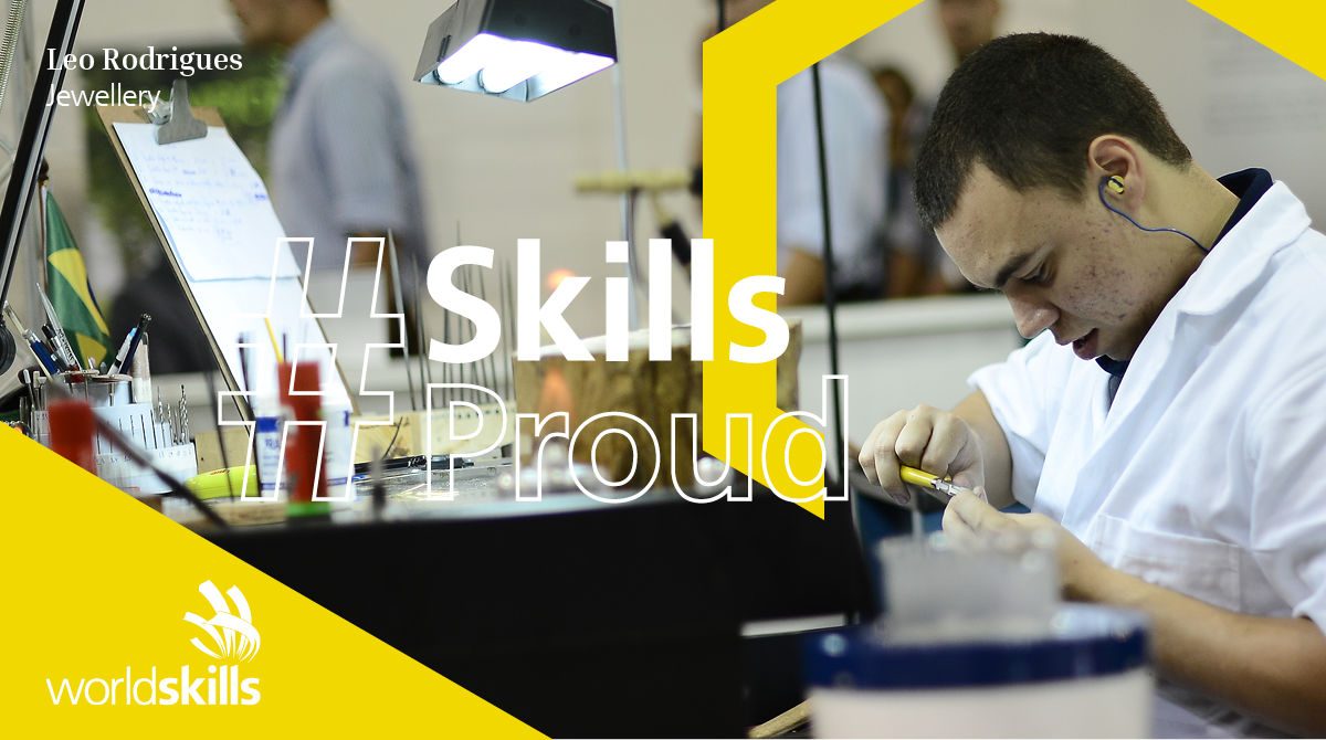 Leo Rodrigues is a WorldSkills Champion, jeweler, entrepreneur, and representative on the WorldSkills Champions Trust.