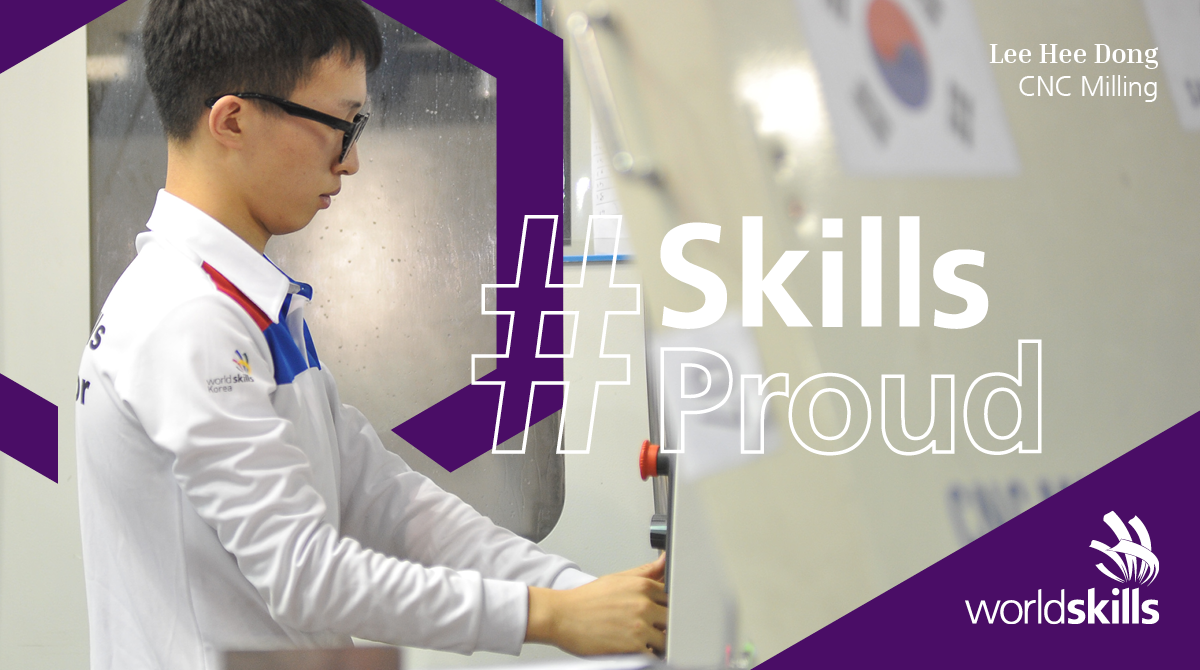 Lee Hong is a WorldSkills Champion, CNC milling engineer, and representative on the WorldSkills Champions Trust.