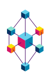 Illustration of a network of cubes