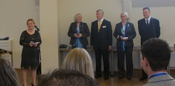 Team Finland 2013 award ceremony with the Minister of Education and Science